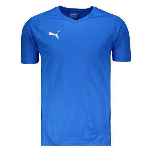 Camisa Puma Liga Core Azul