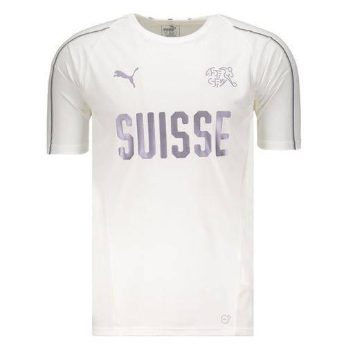 Camisa Puma Suíça Treino 2018 Branca
