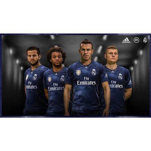Camisa Real Madrid Edição Limitada Oficial Torcedor Azul 2018/19 Tamanho P Original