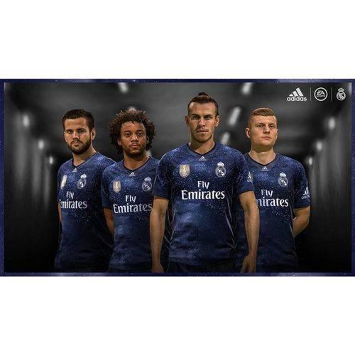Camisa Real Madrid Edição Limitada Oficial Torcedor Azul 2018/19 Tamanho M Original
