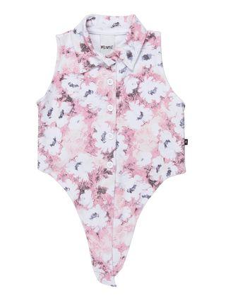 Camisa Regata Infantil para Menina - Rosa