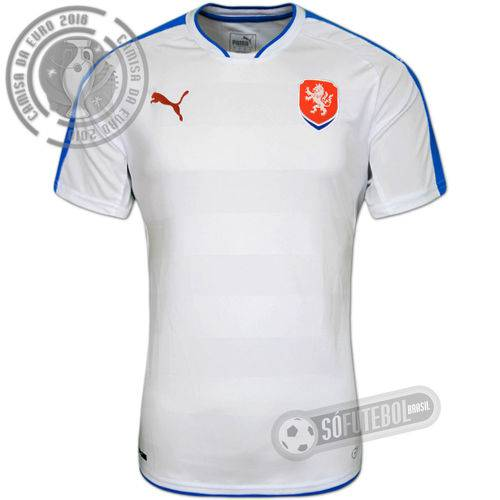 Camisa República Tcheca - Modelo Ii