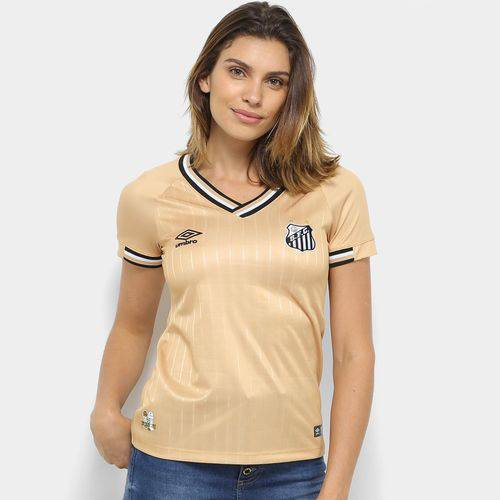 Camisa Santos Iii 2018 S/n° - Torcedor Umbro Feminina