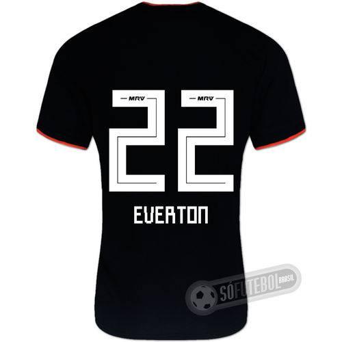 Camisa São Paulo - Modelo Ii (everton #22)
