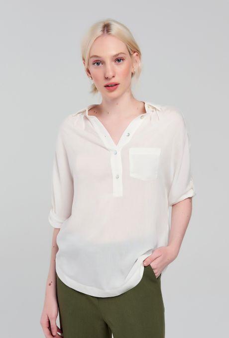 Camisa Segóvia Off White M