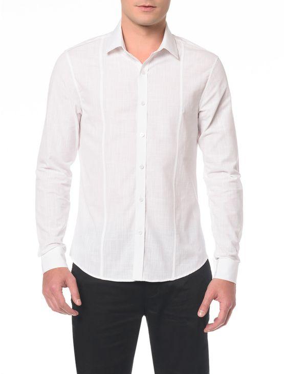 Camisa Slim Monte Calor Militar Recorte - 1