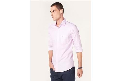 Camisa Social Bálsamo - Rosa - 38
