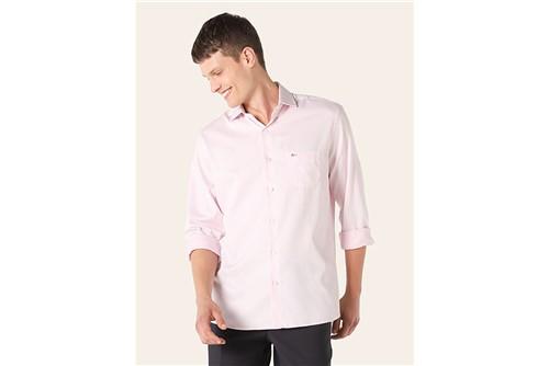 Camisa Social Maquineta - Rosa - 38