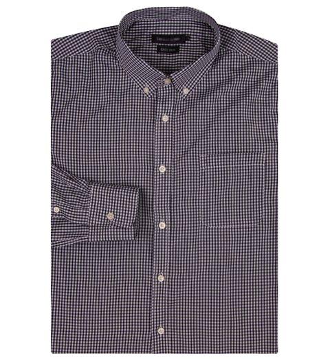 Camisa Social Masculina Preto Xadrez - 2