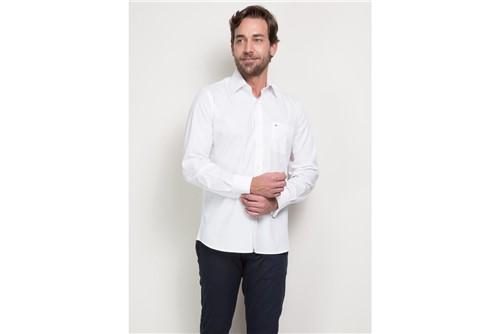 Camisa Social P Duplo - Branco - 45