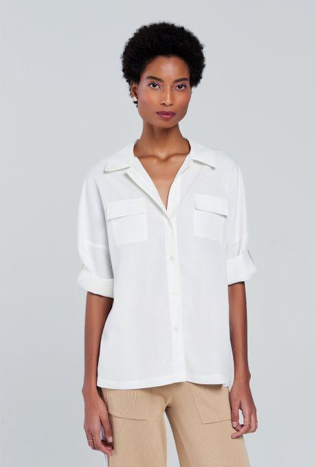 Camisa Taormina Off White G