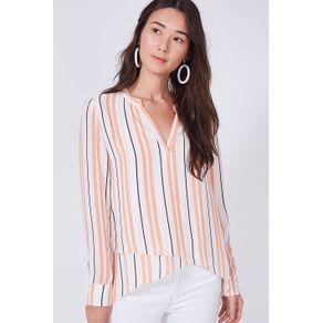 Camisa Traspassada Vintage Stripes Est Vintage Stripes - 38