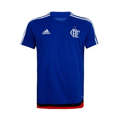 Camisa Treino Flamengo Adidas Azul 2015 - P