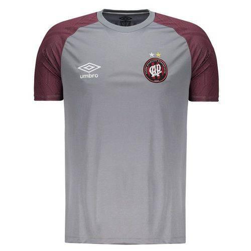Camisa Umbro Atlético Paranaense Treino 2018 Cinza - Umbro