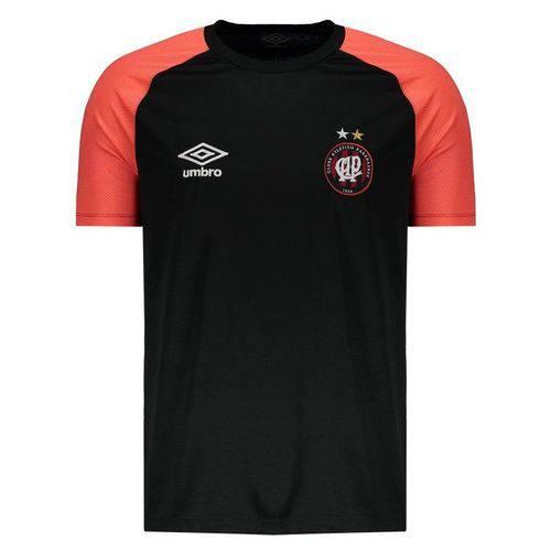 Camisa Umbro Atlético Paranaense Treino 2018 Preta - Umbro