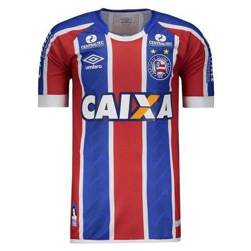 Camisa Umbro Bahia Oficial 2 2017/2018 Masculina