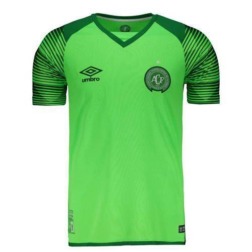 Camisa Umbro Chapecoense Goleiro 2017 Verde