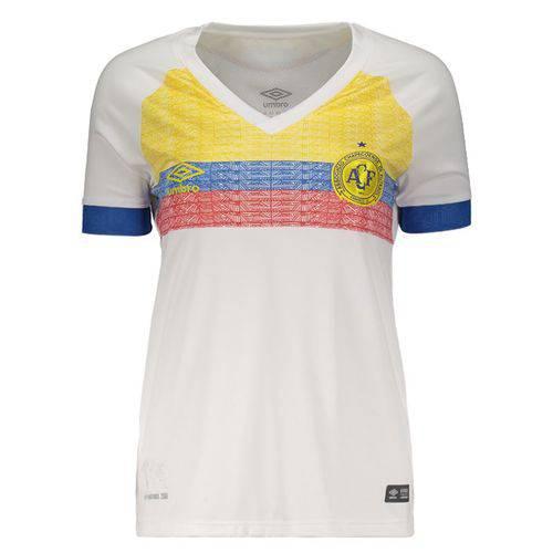 Camisa Umbro Chapecoense II 2018 La Pasión Feminina