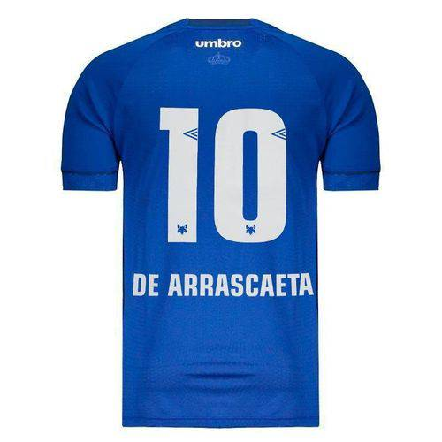 Camisa Umbro Cruzeiro I 2018 10 de Arrascaeta