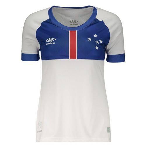 Camisa Umbro Cruzeiro II 2018 Blaa Vikingur Feminina - Umbro