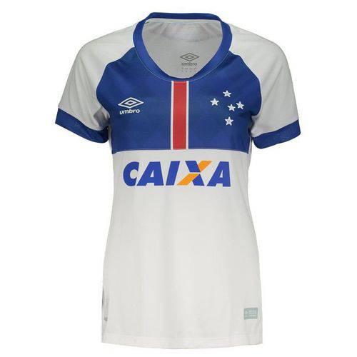 Camisa Umbro Cruzeiro II 2018 Blar Vikingur Feminina