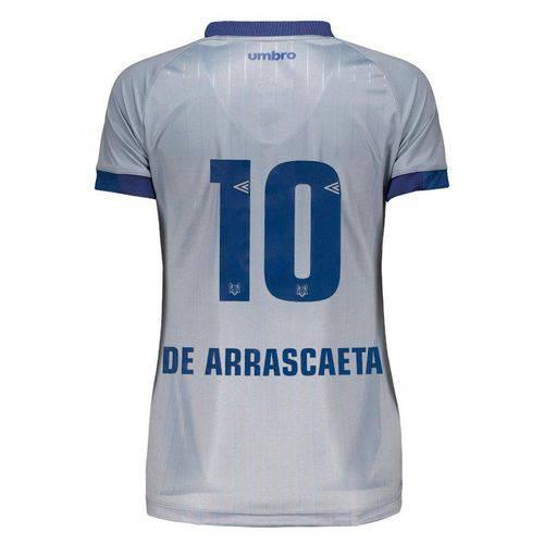 Camisa Umbro Cruzeiro III 2018 10 de Arrascaeta Feminina