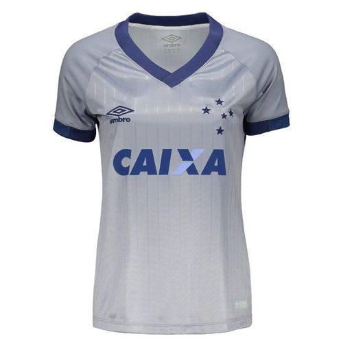 Camisa Umbro Cruzeiro III 2018 Feminina