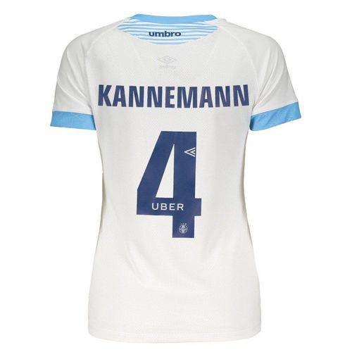Camisa Umbro Grêmio II 2018 4 Kannemann Feminina
