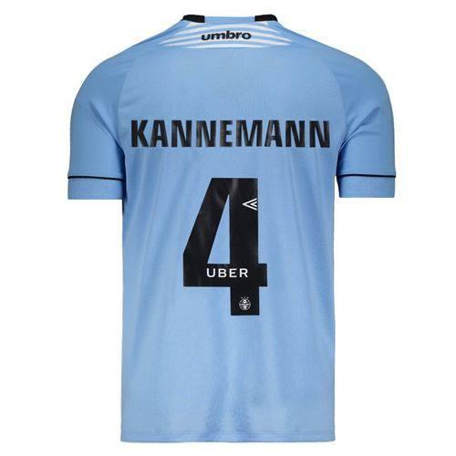 Camisa Umbro Grêmio II 2018 Charrua 4 Kannemann