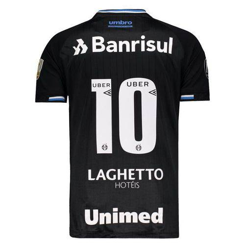Camisa Umbro Gremio III 2018 N° 10 Libertadores