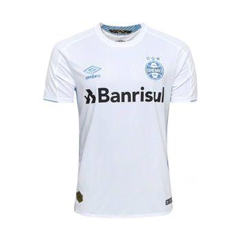 Camisa Umbro Grêmio Of.2 2019 Branco/Azul G