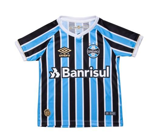 Camisa Umbro Grêmio Of 1 2018 Infantil 778299
