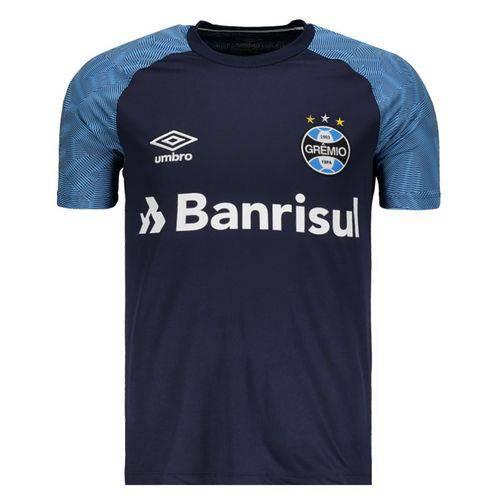 Camisa Umbro Grêmio Treino 2018 Azul
