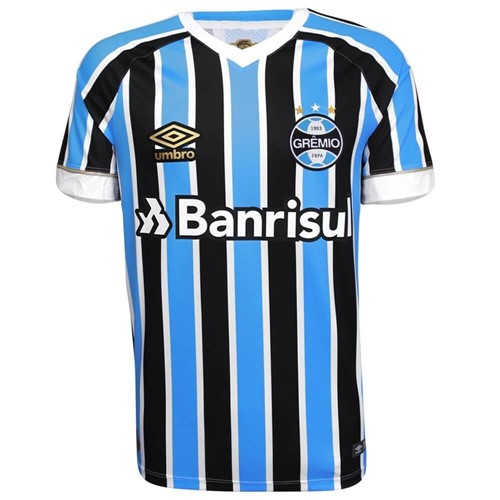 Camisa Umbro Masculina Grêmio Oficial I 2018 Game S/N 778227
