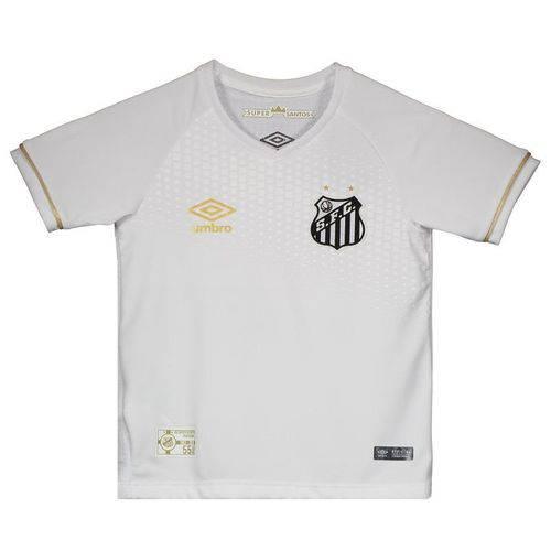 Camisa Umbro Santos I 2018 Infantil - Umbro