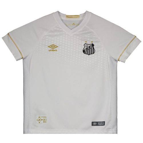 Camisa Umbro Santos I 2018 Juvenil