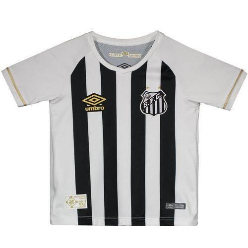 Camisa Umbro Santos II 2018 Infantil