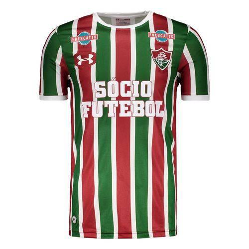 Camisa Under Armour Fluminense I 2017 com Patrocínio
