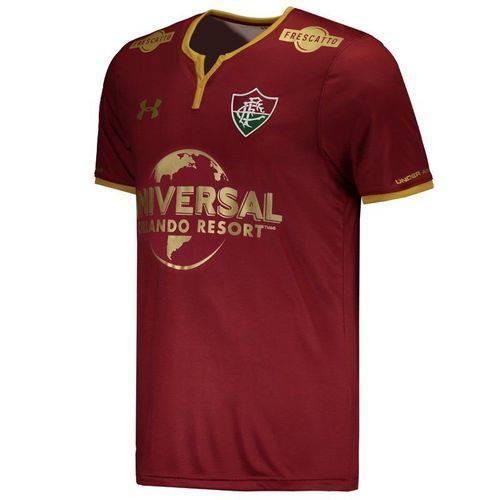 Camisa Under Armour Fluminense III 2017 com Patrocínio