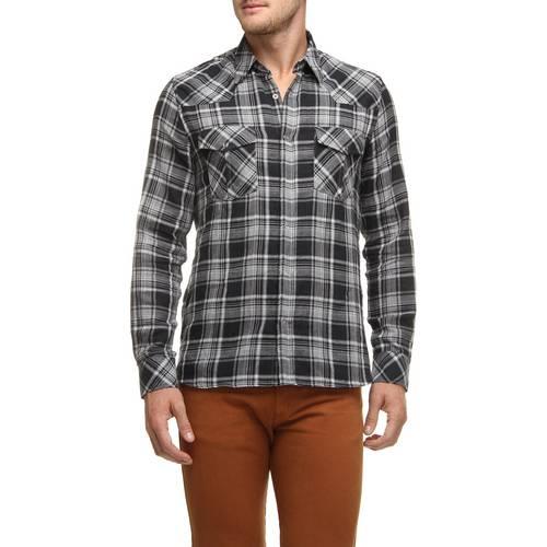 Camisa Xadrez Zapalla Western Preto G