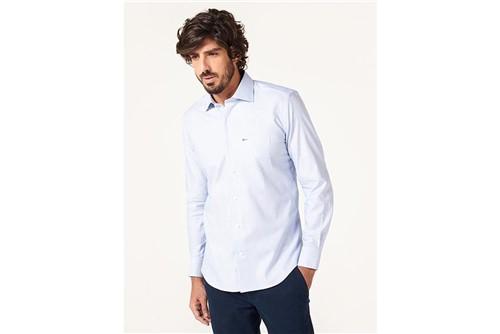 Camisa Z Menswear Micro Maquineta - Azul - GG