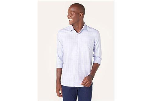 Camisa Z Menswear Xadrez Blue - Azul - M