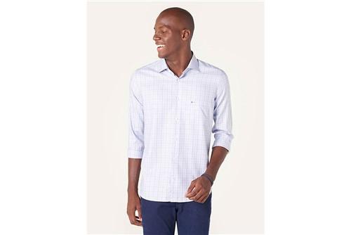 Camisa Z Menswear Xadrez Blue - Azul - P