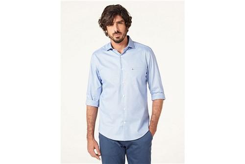 Camisa Z Menswear Zig Zag - Azul - M
