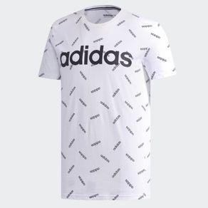 Camiseta Adidas Aop Tee Branca Homem M
