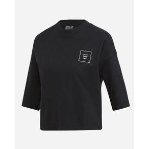 Camiseta Adidas Boyfriend Preto Mulher G