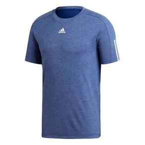 Camiseta Adidas M Id Stdm 3s Azul Homem M