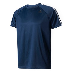 Camiseta Adidas Mc D2m 3s Marinho Masc P