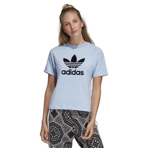 Camiseta Adidas Originals Trefoil Feminina