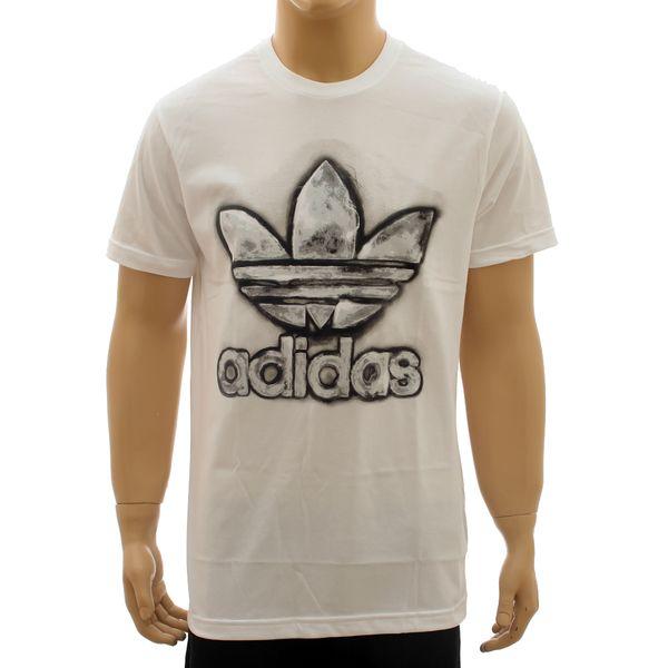Camiseta Adidas TRF Graphic White (P)